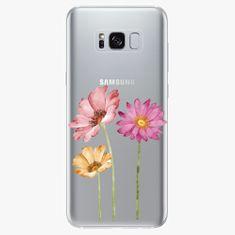 iSaprio Plastový kryt - Three Flowers - Samsung Galaxy S8