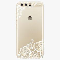 iSaprio Silikonové pouzdro - White Lace 02 - Huawei P10