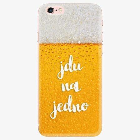 iSaprio Silikonové pouzdro - Jdu na jedno - iPhone 7 Plus