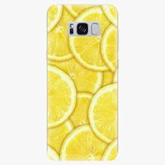 iSaprio Silikonové pouzdro - Yellow - Samsung Galaxy S8