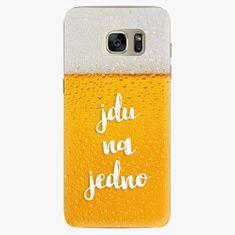 iSaprio Plastový kryt - Jdu na jedno - Samsung Galaxy S7 Edge