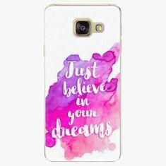 iSaprio Plastový kryt - Believe - Samsung Galaxy A3 2016