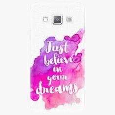 iSaprio Plastový kryt - Believe - Samsung Galaxy A7