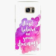 iSaprio Plastový kryt - Believe - Samsung Galaxy S7 Edge
