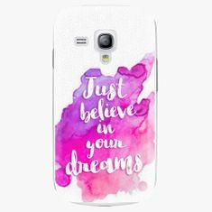 iSaprio Plastový kryt - Believe - Samsung Galaxy S3 Mini