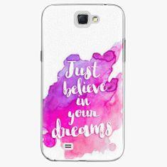 iSaprio Plastový kryt - Believe - Samsung Galaxy Note 2