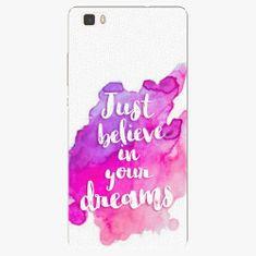 iSaprio Plastový kryt - Believe - Huawei Ascend P8 Lite