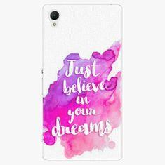 iSaprio Plastový kryt - Believe - Sony Xperia Z1