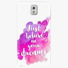 iSaprio Plastový kryt - Believe - Samsung Galaxy Note 3