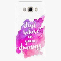 iSaprio Plastový kryt - Believe - Samsung Galaxy J7 2016