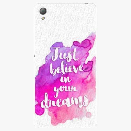 iSaprio Plastový kryt - Believe - Sony Xperia Z3