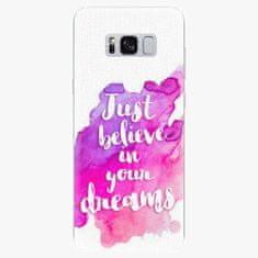 iSaprio Silikonové pouzdro - Believe - Samsung Galaxy S8