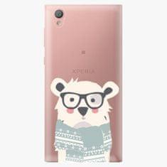 iSaprio Plastový kryt - Bear with Scarf - Sony Xperia L1