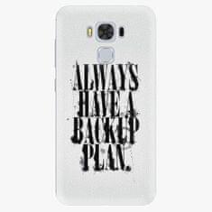 iSaprio Plastový kryt - Backup Plan - Asus ZenFone 3 Max ZC553KL