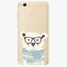 iSaprio Plastový kryt - Bear with Scarf - Xiaomi Redmi 4X