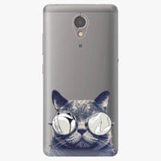 iSaprio Plastový kryt - Crazy Cat 01 - Lenovo P2