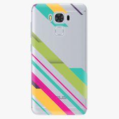 iSaprio Plastový kryt - Color Stripes 03 - Asus ZenFone 3 Max ZC553KL