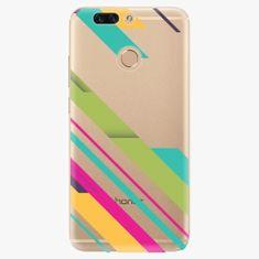 iSaprio Plastový kryt - Color Stripes 03 - Huawei Honor 8 Pro