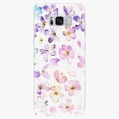 iSaprio Silikonové pouzdro - Wildflowers - Samsung Galaxy S8