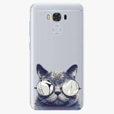 iSaprio Plastový kryt - Crazy Cat 01 - Asus ZenFone 3 Max ZC553KL