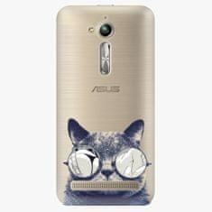 iSaprio Plastový kryt - Crazy Cat 01 - Asus ZenFone Go ZB500KL