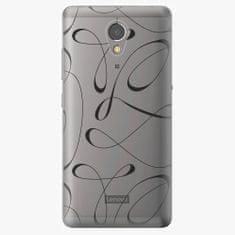 iSaprio Plastový kryt - Fancy - black - Lenovo P2