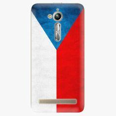 iSaprio Plastový kryt - Czech Flag - Asus ZenFone Go ZB500KL