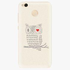 iSaprio Plastový kryt - I Love You 01 - Xiaomi Redmi 4X