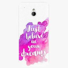 iSaprio Plastový kryt - Believe - HTC One Mini
