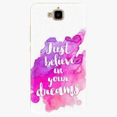iSaprio Plastový kryt - Believe - Huawei Y6 Pro