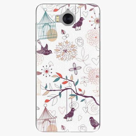 iSaprio Silikonové pouzdro - Birds - Huawei Y5 2017 / Y6 2017