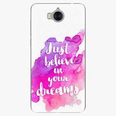 iSaprio Plastový kryt - Believe - Huawei Y5 2017 / Y6 2017