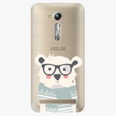iSaprio Plastový kryt - Bear with Scarf - Asus ZenFone Go ZB500KL
