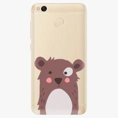 iSaprio Plastový kryt - Brown Bear - Xiaomi Redmi 4X