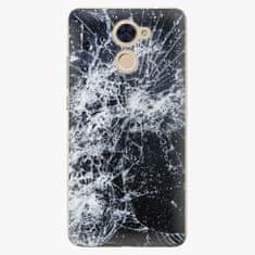 iSaprio Plastový kryt - Cracked - Huawei Y7 / Y7 Prime