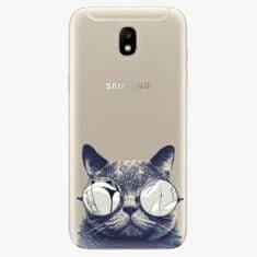 iSaprio Plastový kryt - Crazy Cat 01 - Samsung Galaxy J5 2017
