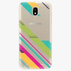 iSaprio Plastový kryt - Color Stripes 03 - Samsung Galaxy J5 2017