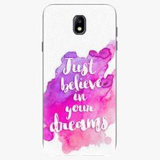 iSaprio Plastový kryt - Believe - Samsung Galaxy J7 2017