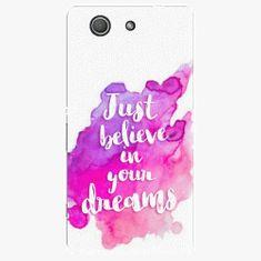 iSaprio Plastový kryt - Believe - Sony Xperia Z3 Compact