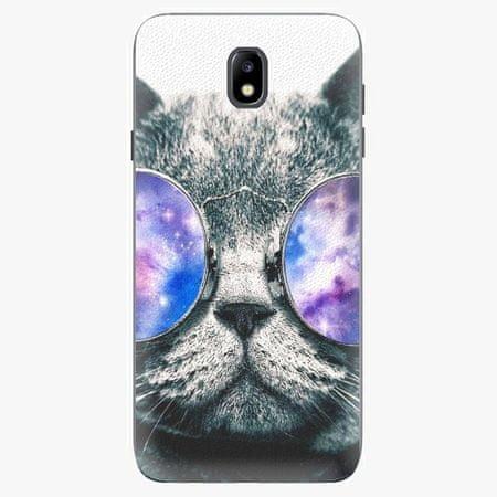 iSaprio Plastový kryt - Galaxy Cat - Samsung Galaxy J7 2017