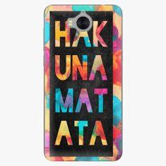 iSaprio Silikonové pouzdro - Hakuna Matata 01 - Huawei Y5 2017 / Y6 2017
