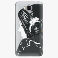 iSaprio Silikonové pouzdro - Headphones - Huawei Y5 2017 / Y6 2017