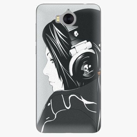 iSaprio Plastový kryt - Headphones - Huawei Y5 2017 / Y6 2017