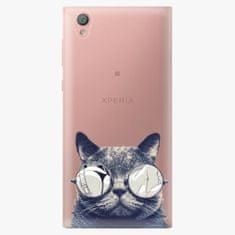 iSaprio Plastový kryt - Crazy Cat 01 - Sony Xperia L1