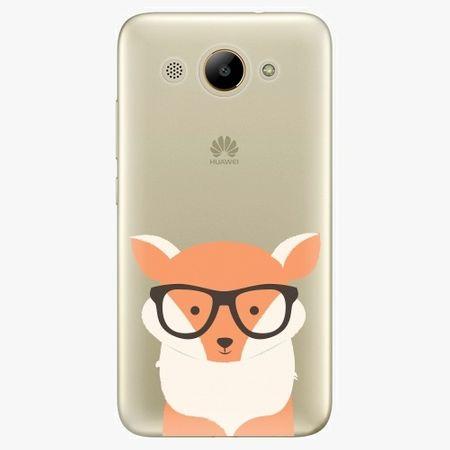 iSaprio Plastový kryt - Orange Fox - Huawei Y3 2017