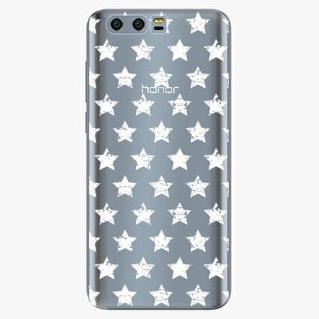 iSaprio Plastový kryt - Stars Pattern - white - Huawei Honor 9
