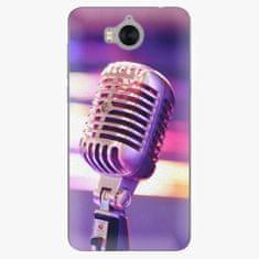 iSaprio Plastový kryt - Vintage Microphone - Huawei Y5 2017 / Y6 2017
