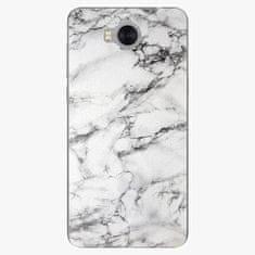 iSaprio Silikonové pouzdro - White Marble 01 - Huawei Y5 2017 / Y6 2017