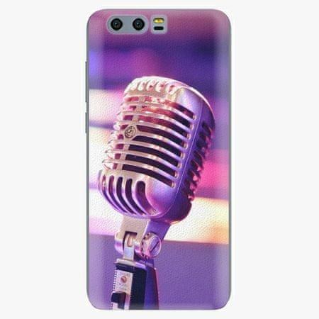 iSaprio Silikonové pouzdro - Vintage Microphone - Huawei Honor 9