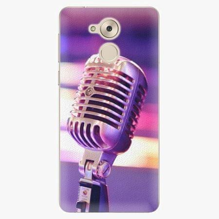 iSaprio Plastový kryt - Vintage Microphone - Huawei Nova Smart